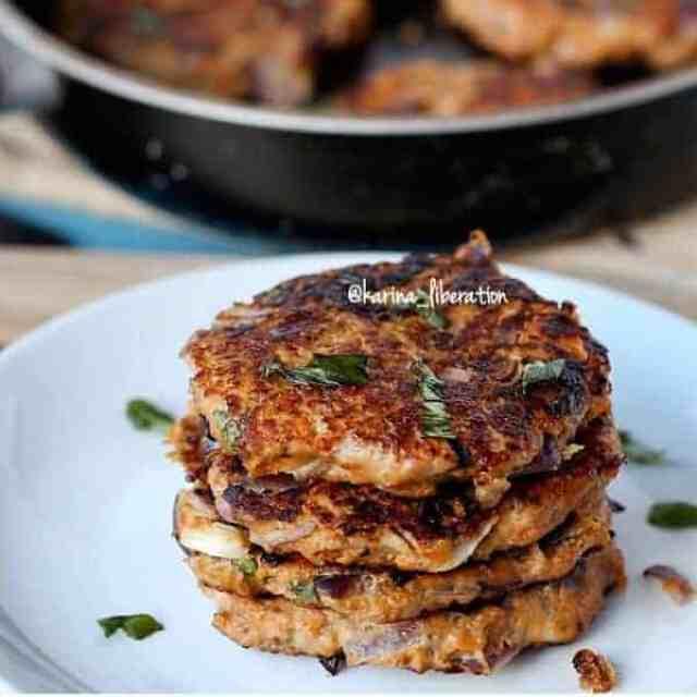 Turkey, Parmesan & Herb Sweet Potato Burgers - cafe delites