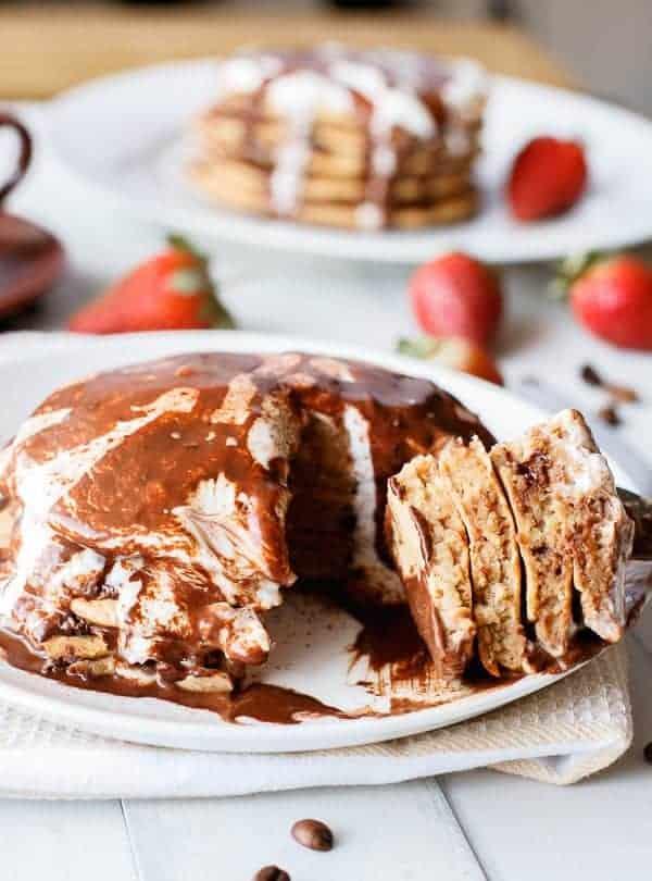 Cappuccino Pancakes - cafe delites