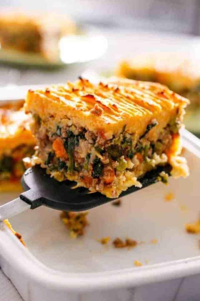Beef and Pumpkin Shepards Pie - Cafe Delites