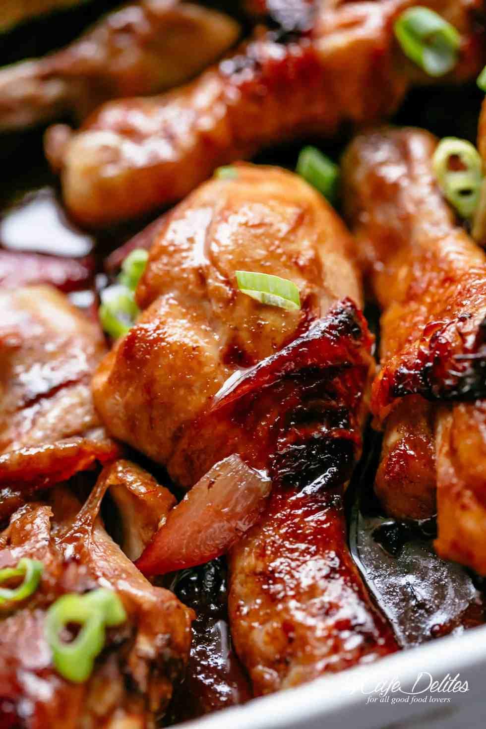 Oven Baked Chicken | https://cafedelites.com
