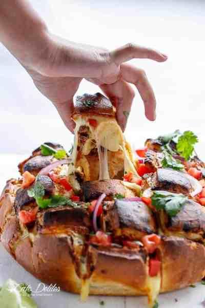 Carne Asada Chipotle Pull Apart Bread   https://cafedelites.com