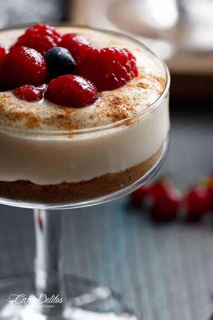 Blender Eggnog Crepes | http://cafedelites.com