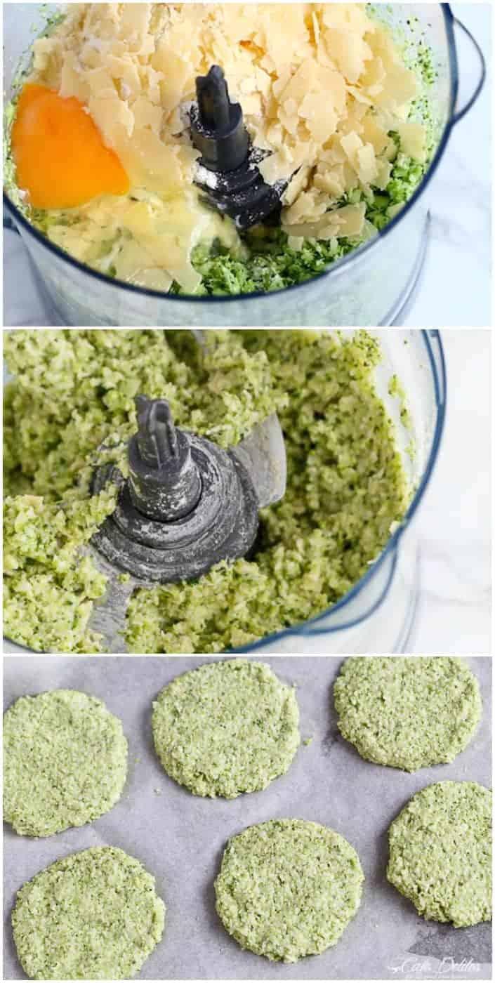 Crispy Broccoli Parmesan Fritters | http://cafedelites.com