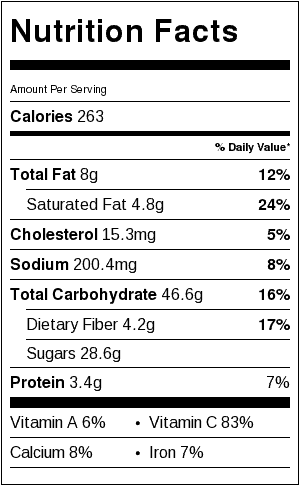 strawberry-rhubarb-crisp-nutrition-label