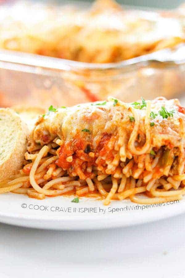 Baked-Spaghetti-Casserole