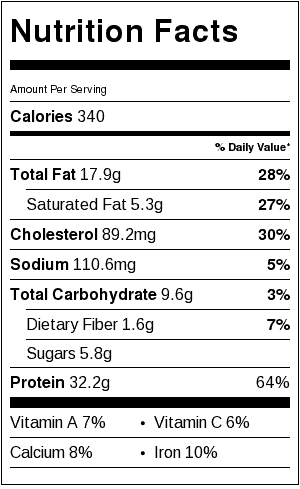 creamy-champagne-chicken-nutrition-label