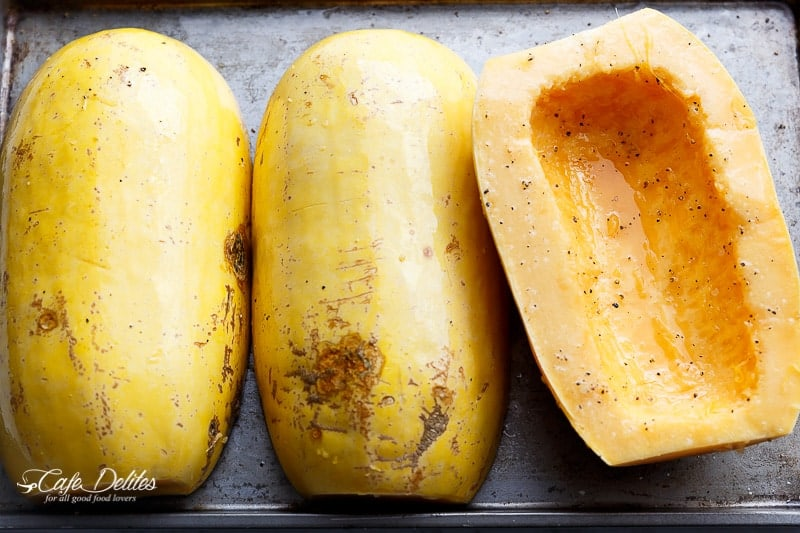 How To Cook Spaghetti Squash | http://cafedelites.com