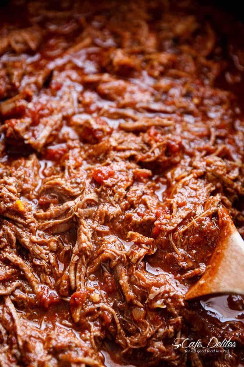 Slow Cooker Beef Ragu | http://cafedelites.com