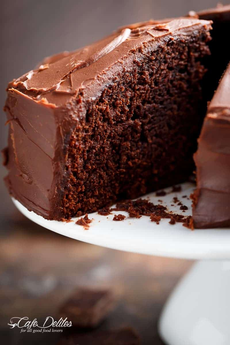 One Bowl Moist Chocolate Cake