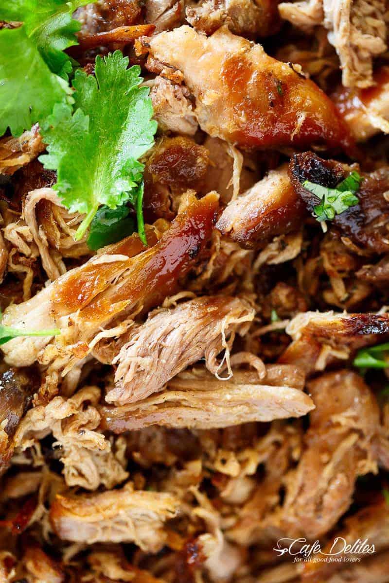 Crispy Pork Carnitas (Mexican Slow Cooked Pulled Pork ...