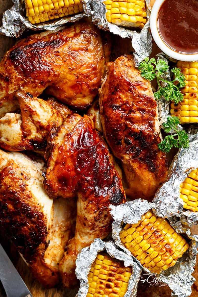 Portuguese Bbq Peri Peri Chicken Homemade Nando S Recipe Cafe Delites