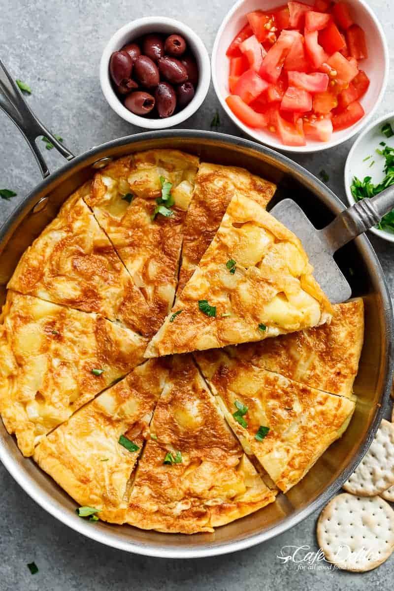 Spanish Tortilla Spanish Omelett...