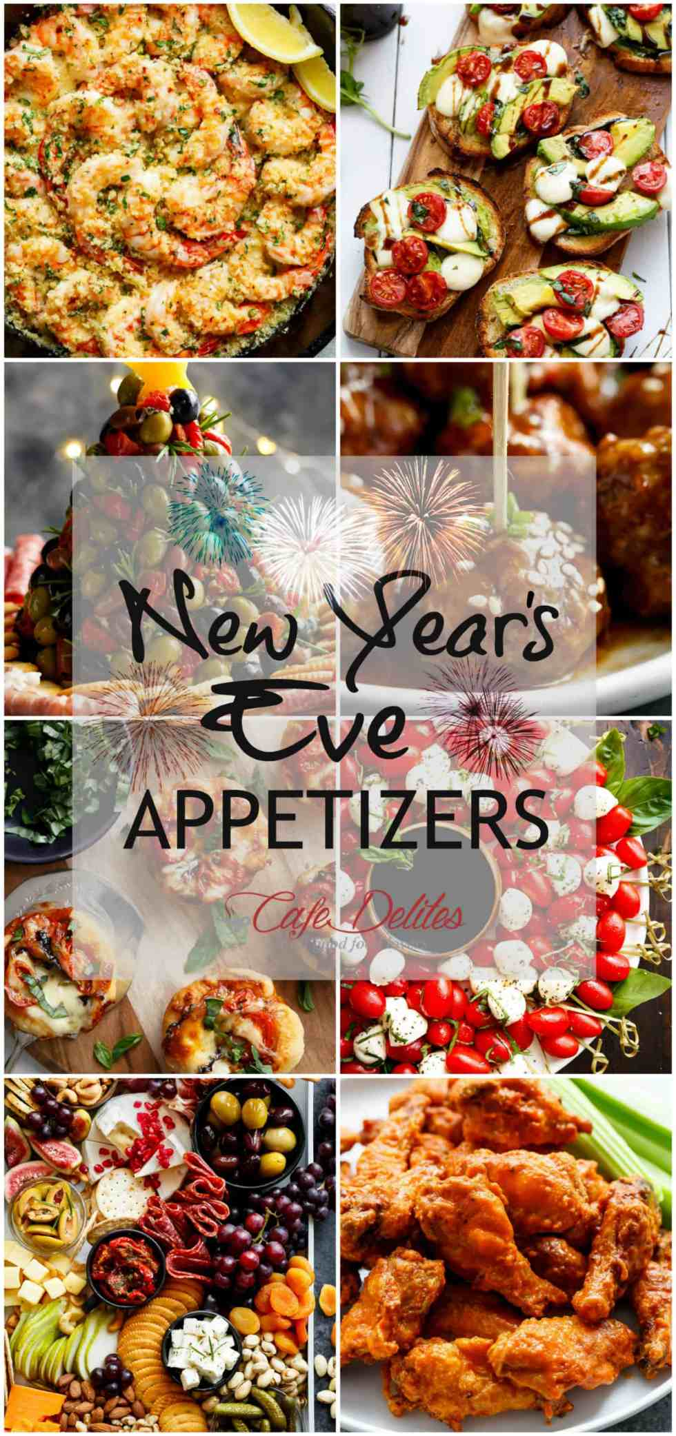 The BEST New Years Appetizers! | cafedelites.com