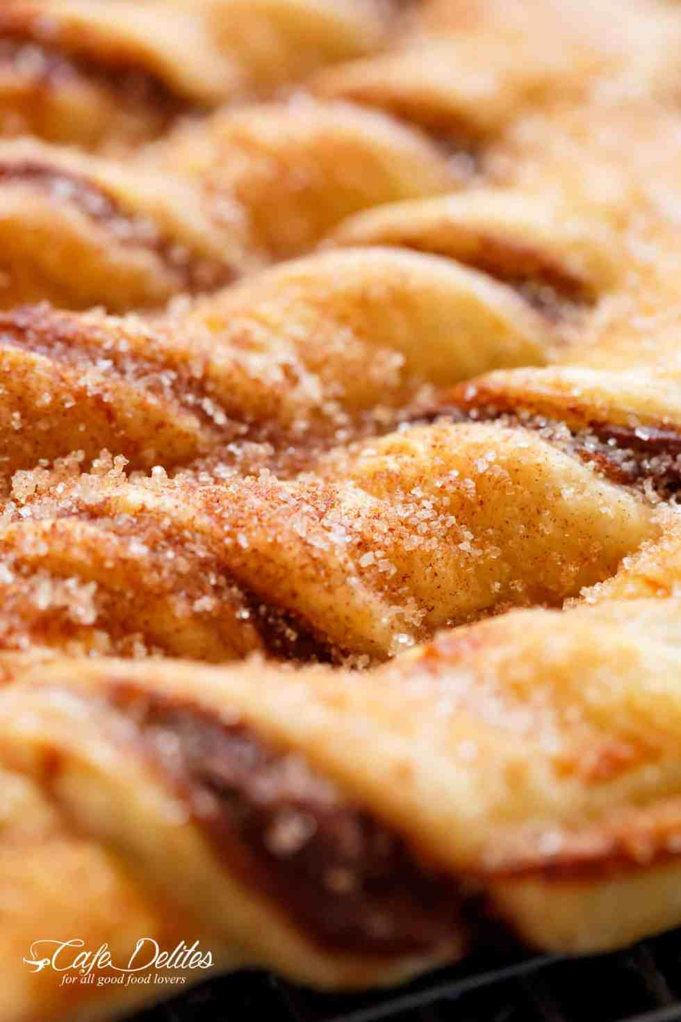 Churro Nutella Christmas Tree | Freshly Vibes