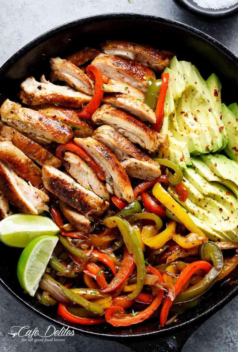 Best Chicken Fajitas