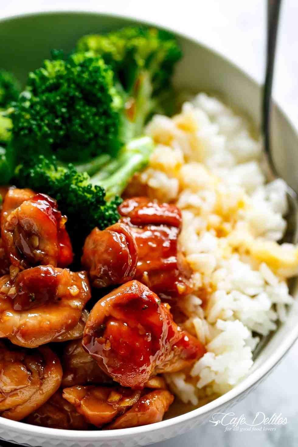 Teriyaki Chicken Cafe Delites