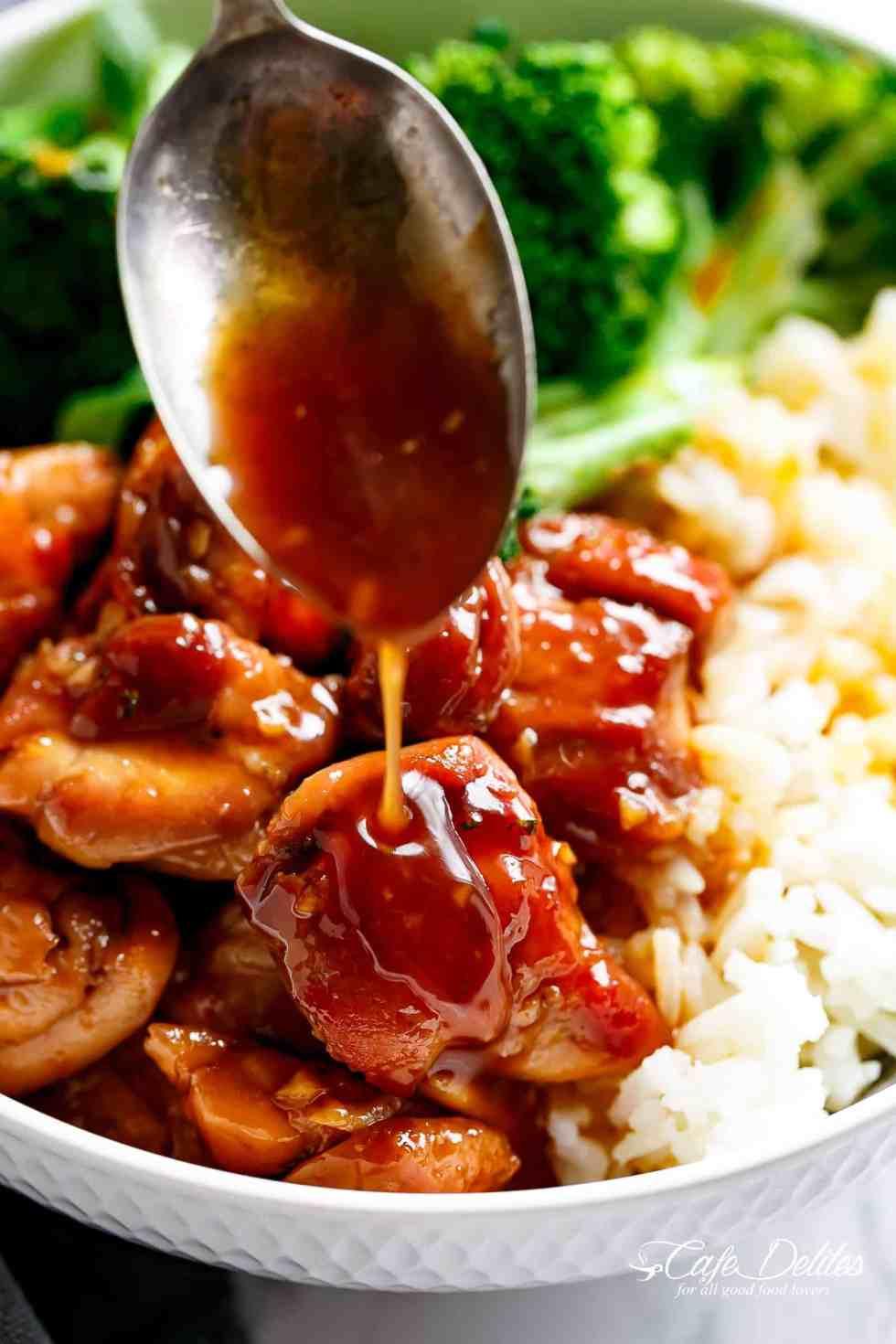 Best Homemade Teriyaki Sauce | cafedelites.com