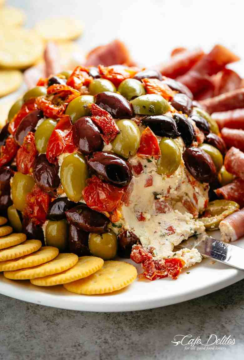 Cheese Ball Antipasto