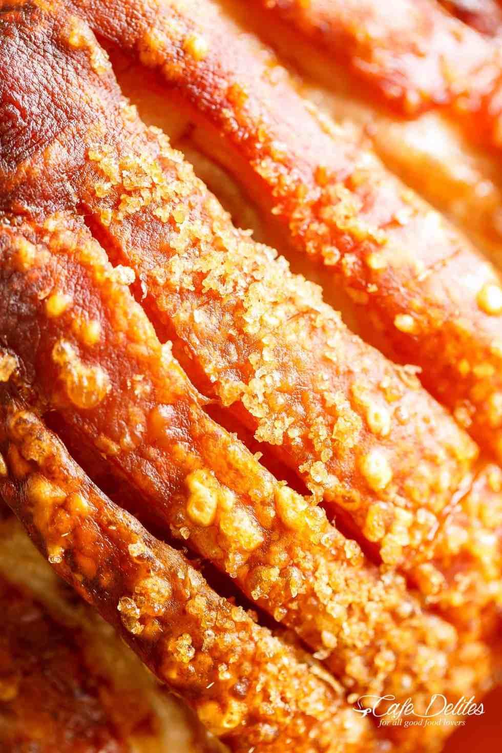 Pork Roast With Crackling! Roasting a pork shoulder or butt is so easy, but to get the crackle makes   cafedelites.com