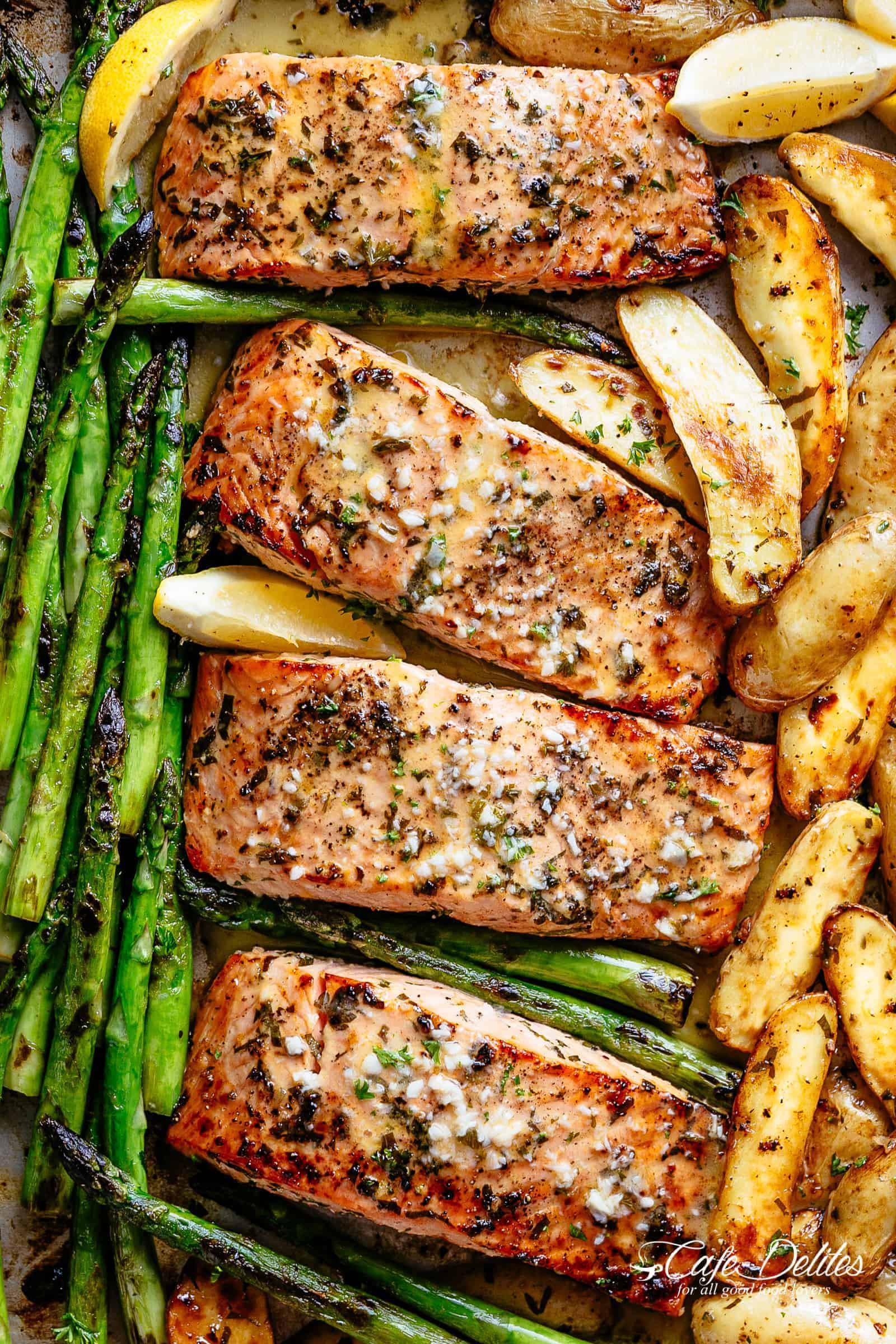 We bake salmon in the oven - step by step and video recipes 73
