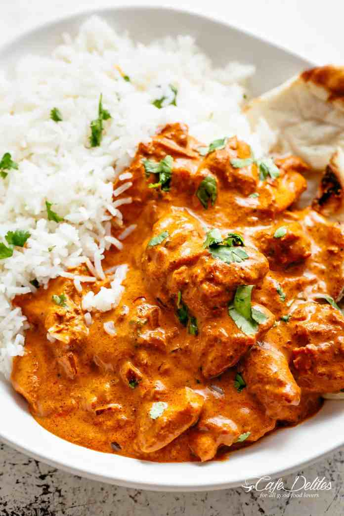 Chicken Tikka Masala Cafe Delites