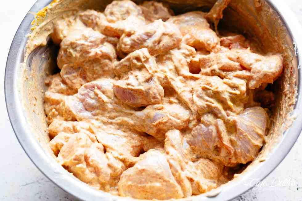 Chicken Tikka Yogurt | cafedelites.com