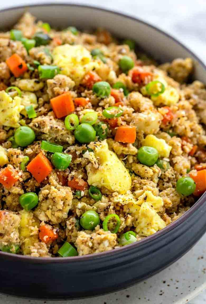 Cauliflower Fried Rice (LOW CARB)