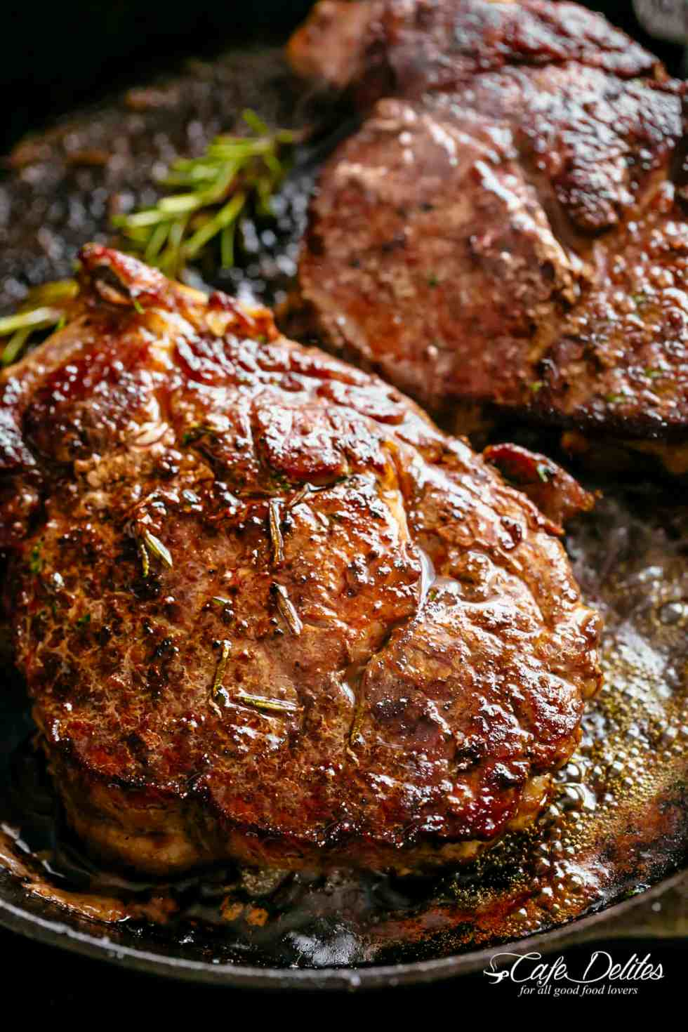 Steakhouse Steak | cafedelites.com