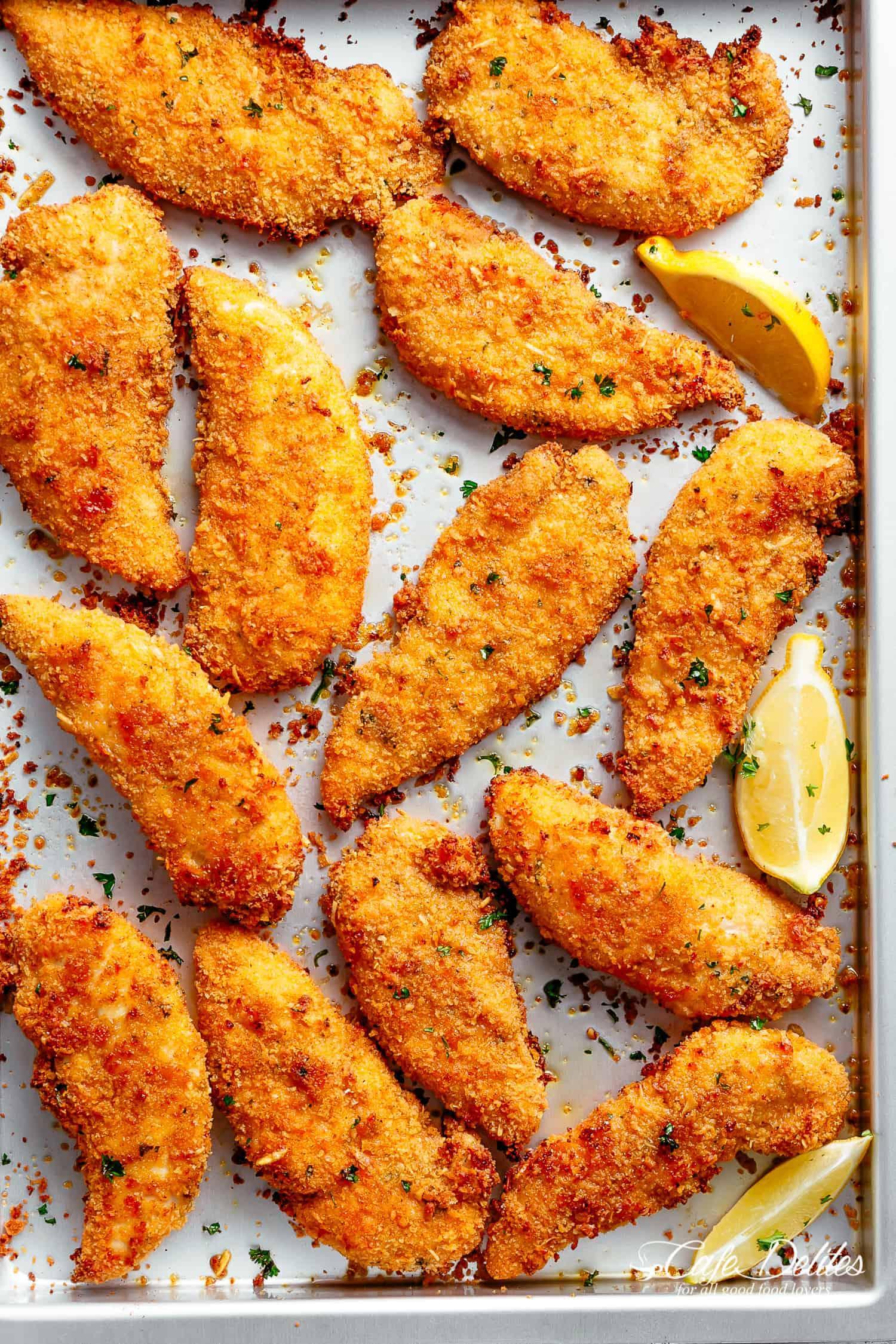 Weight Watchers Crispy Parmesan Chicken Strips