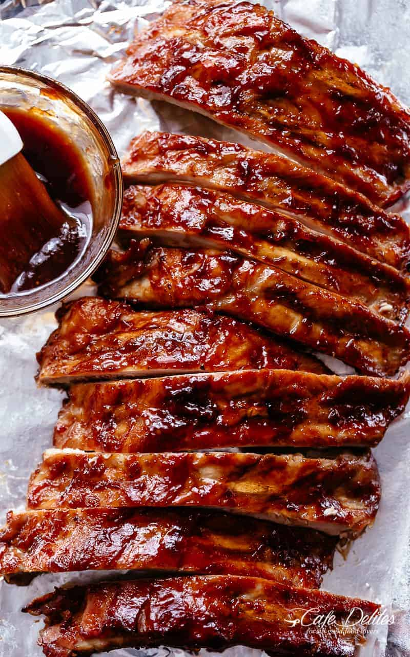 Slow Cooker BBQ Ribs