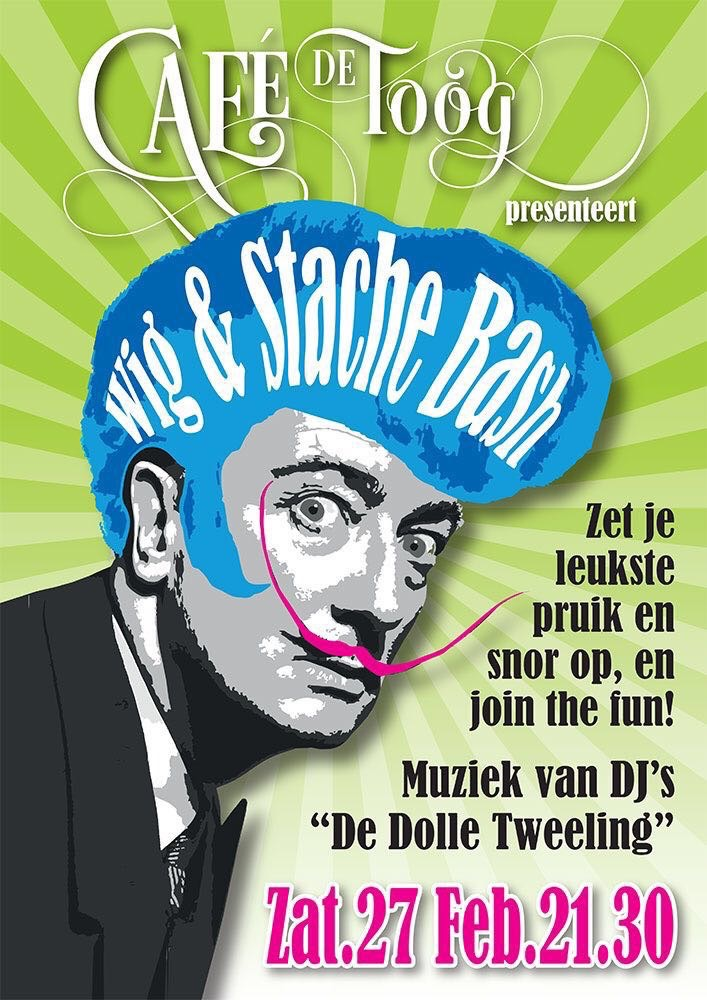 Wig And Stache Bash