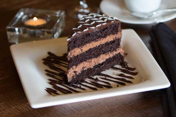 Cafe Dodici Chocolate Cake