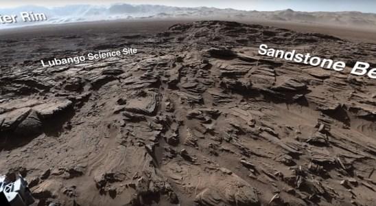 paysage martien