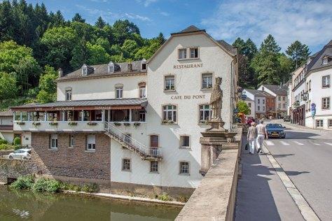 Photo de la paroi latérale de Cafe Du Pont Vianden.