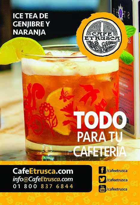 Ice Tea de Jengibre y Naranja
