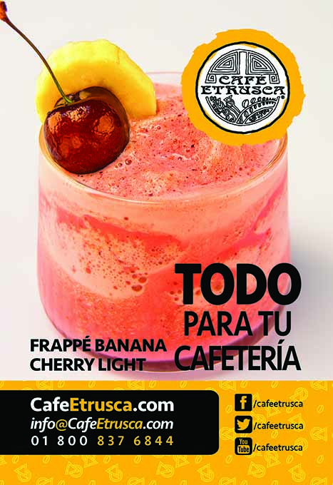 Frappé Banana Cherry Light