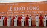 Khởi công cảng quốc tế gang thép Nghi Sơn