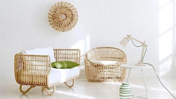Những món đồ nội nội thất làm từ mây tre đan rất bền có thể lên đến 50 năm nếu bảo quản tốt.