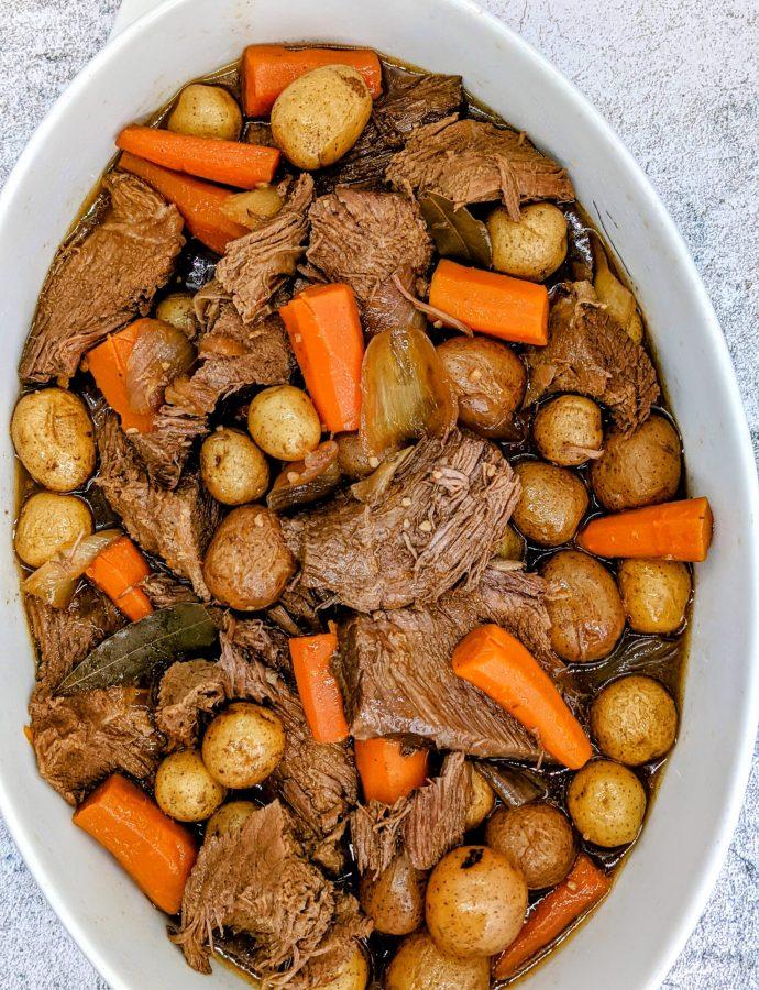 Slow-Cooker Tender Pot Roast