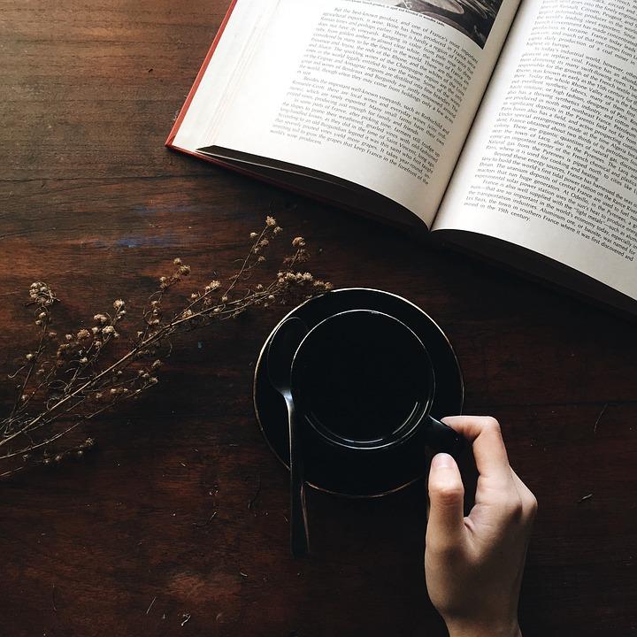 book coffee time