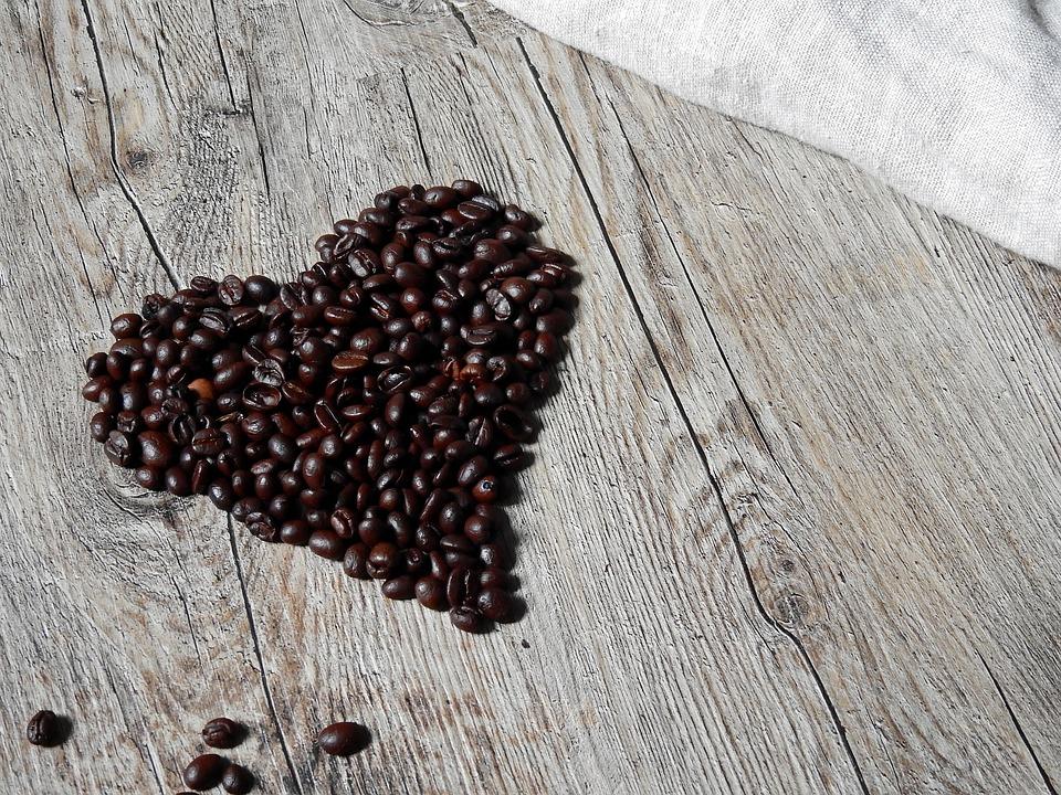 heart coffee love