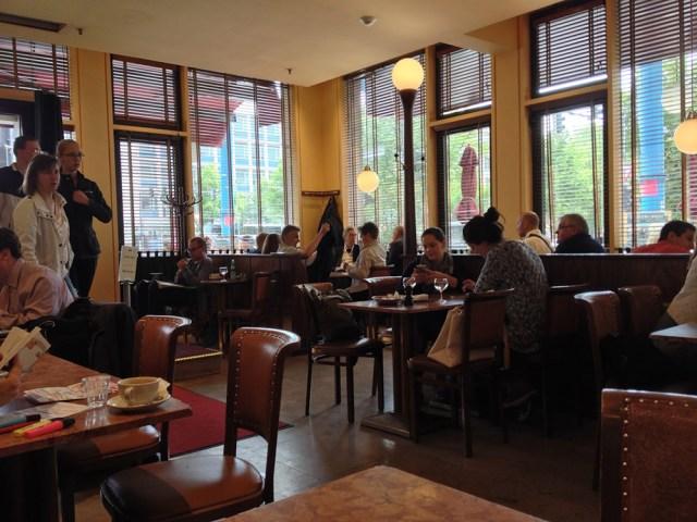 Einstein coffee house in Berlin