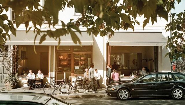 Zeit Fur Brot coffee house in Berlin