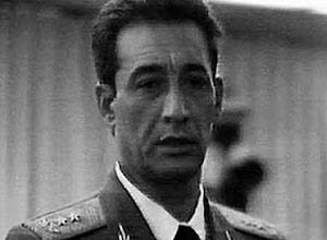El general Arnaldo Ochoa durante le juicio militar seguido en su contra en junio de 1989.