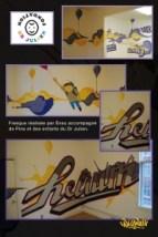 fondation docteur julien murale art culture graffiti graffiteur