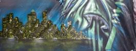 murale hiphop montreal souterrain nuit blanche artiste graffiti