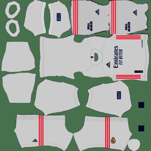 Bộ Kit Real Madrid – Dream League Soccer 2021