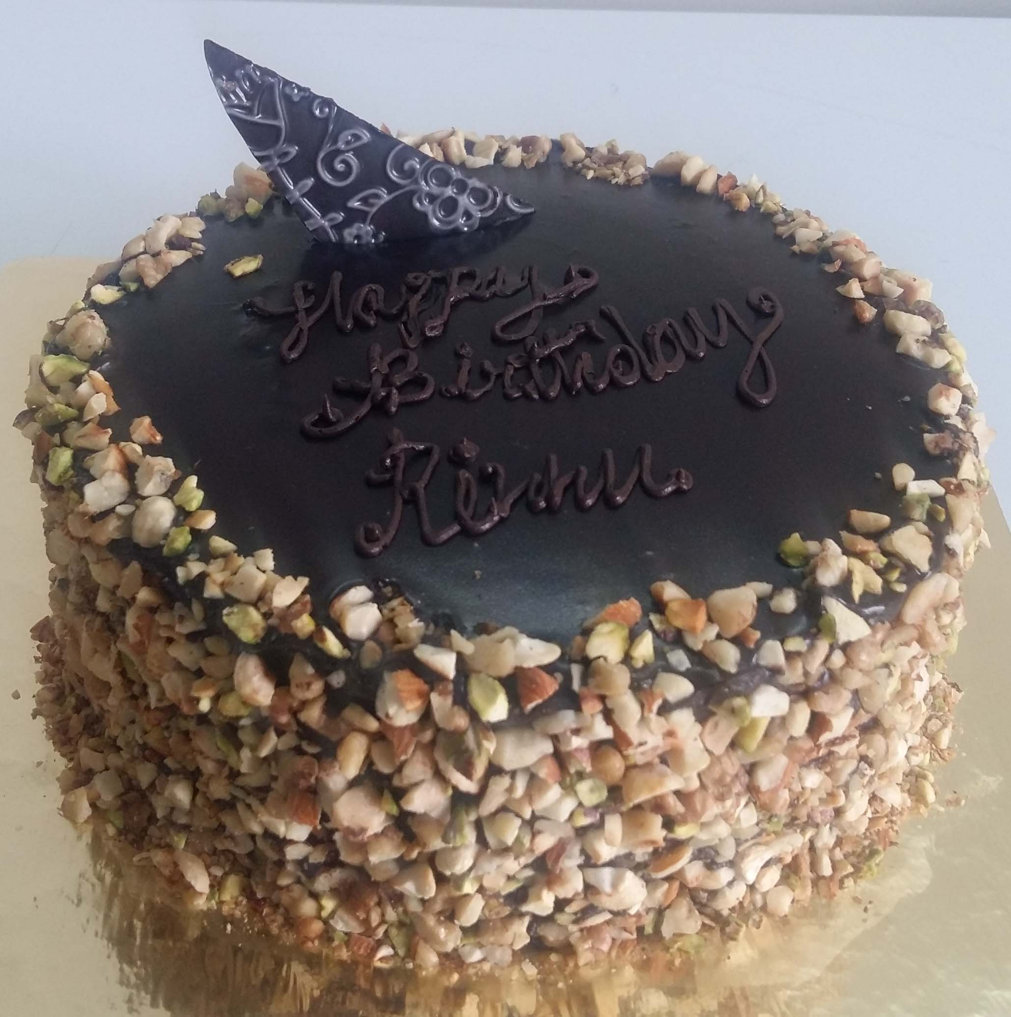 Chocolate Nut Cake Order Online Bangalore Chocolate Nut Cake Delivery