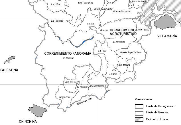 Specific Location of Alto del Naranjo