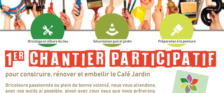 7 avril : Chantier participatif